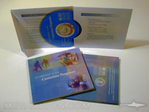 DVD Mailer, 2pp mailer with thumbhole - Vote