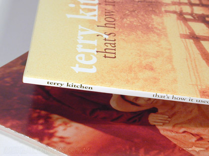 CD Minijacket with Spine, Terry Kitchen